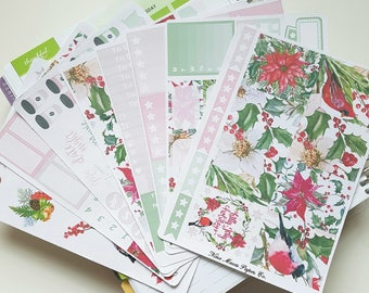 Planner Stickers - Holly Jolly