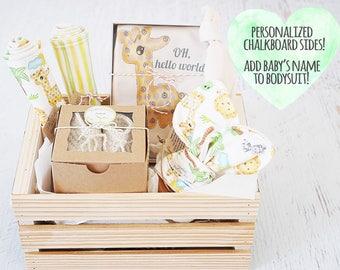 Baby gift basket etsy negle Choice Image