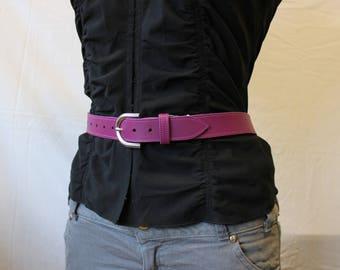 leather belt. Purple belt; Purple leather belt. women leather belt