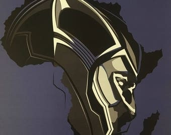 Black Panther: Motherland | Africa Movie Poster