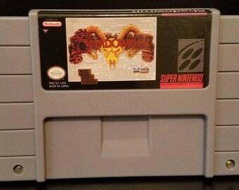 Shadowrun Custom English Super Nintendo SNES