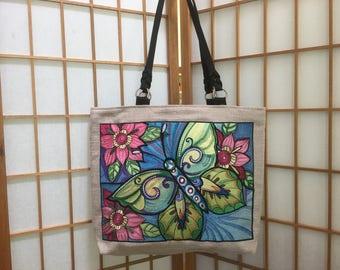 Embroidered Couture Handbag