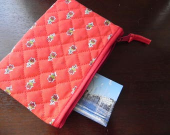 POUCH PROVENCAL RED 11 X 16 CM