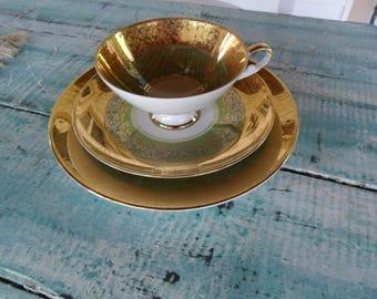 Vintage Alboth & Kaiser Trio Tea Cup Set