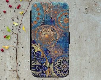 Mandala Iphone 6 Wallet Case Leather Iphone 6 Case Leather Iphone 6 Flip Case Iphone 6 Leather Wallet Case Iphone 6 Leather Cover