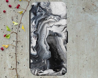 Black Marble Iphone 6 Wallet Case Flip Iphone 7 Case Leather Iphone 7 Plus Flip Case Iphone 6 Leather Wallet Case Iphone 6 Leather Cover