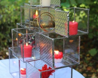Candle boxes of glass