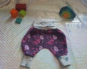 Pink Sugar skull Balloon Pants