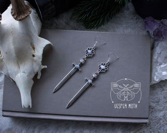 Feline Warrior Earrings