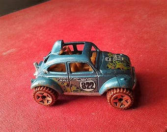 40% off - VW Jungle Rally Hot Wheels Car - 1983