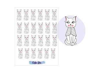 Stickers Kitten Cats Set 2