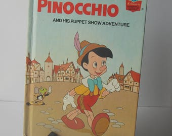 Walt disney pinocchio book 1975 1984