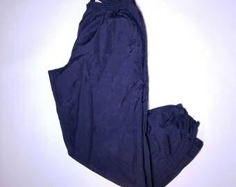 Black Vintage Nike Sweat Pants L