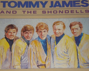 Tommy James and The Shondells vinyl record, Hanky Panky and Other Hits vintage vinyl record album