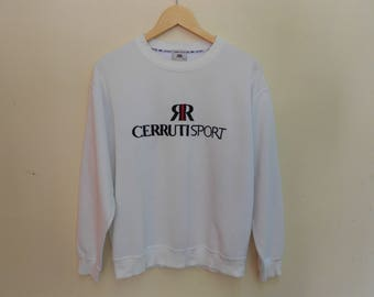 cerruti sport sweatshirt vintage cerruti sport sweatshirt