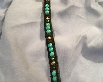 Boho wrap bracelet in southwestern chic