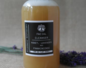 Honey, Lavender and Frankincense Facial Cleanser