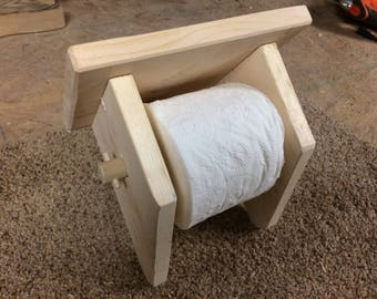 Primitive Toilet Paper Holder