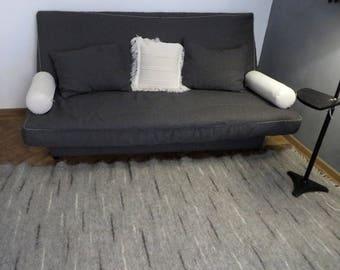 Gray Area Rug,Scandinavian Rugs,Icelandic Rug,Scandinavian Design,Handwoven Rugs,Floor Decor,Bedroom Decor,Livingroom Rugs,Carpet Rug,Rugs