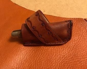 Custom knife sheaths for folding knives
