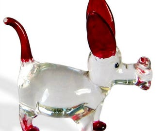 Fabulous glass figurine - dog