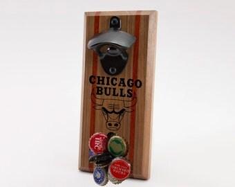 Chicago Bulls Magnetic Bottle Opener