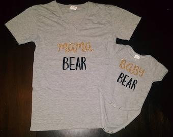Mama Bear/Baby Bear clothing