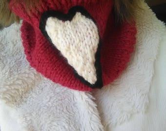 """""""Heart"""" collar"""