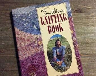 Knitting Book - Erica Wilson - Vintage Knitting Book - Knitting Patterns - Gift for Knitter - Knitting History - Sweater Patterns