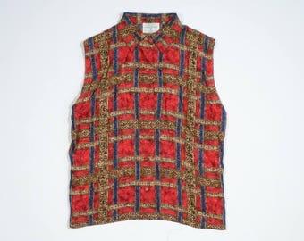 Valentino - Silk sleeveless shirt