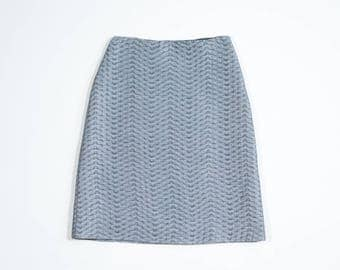PRADA - Silk skirt