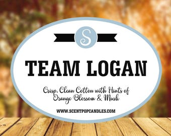 Team Logan, Gilmore Girls Inspired Soy Candles | 8 oz Candle | Scented Candle | Stars Hollow | Gilmore Girls | Scent Pop Candles