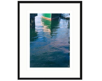 """Shipyard Archeology, """"Miss Nancy,"""" Framed Print, two sizes and two frame options. FREE SHIPPING, ready to hang"""