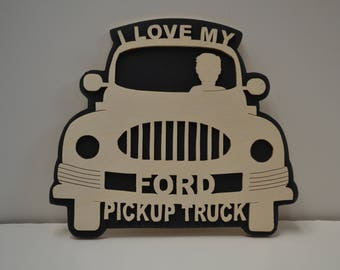 I Love My Pickup Truck (Ford, Chevy, or Dodge)