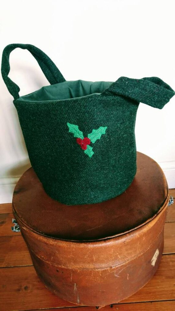 Hand Crafted Harris Tweed bag