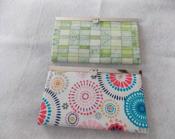 Latched Fabric Wallet