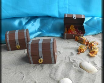 sweets or candy box treasure chest