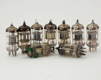 Electron tube vacuum tubes steampunk supplies assemblage Jewelry Making old radio tubes vintage tubes television tubes vintage electronics