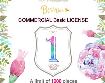 COMMERCIAL LICENSE to Sell. No Credit License. one design kits