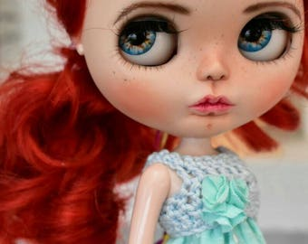 Custom Blythe Dolls For Sale by OOAK Blythe doll, Adeline Custom art blythe doll by janasOOAKblytheDolls, dolls