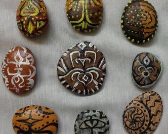 9 shamanic ritual stones - 9 shamanic stones ritual