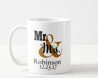 160 Wedding Mugs