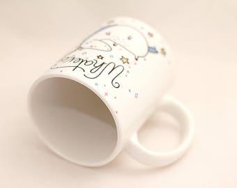 mug with a unicorn