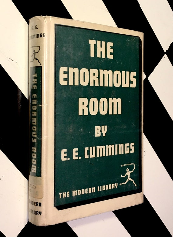 The Enormous Room by e. e. cummings (1949) Modern Library hardcover book