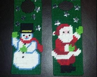 Christmas Door Knob Hangers