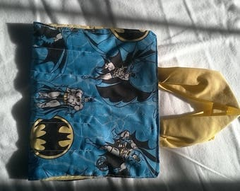Batman on the go coloring tote