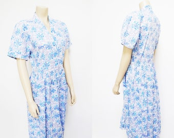 Marion Donaldson, 1980s Dress, Long, Boho Dress, Ladies Dresses, Vintage Clothing, Hippy Dress, Gypsy, Hippie, Foral Dress