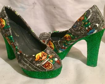 Zelda shoes / heels* * * uk sizes 3-8 * * *