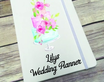 Personalised Lined Notepad- Gift - Present - Wedding Planner DD289