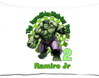 Incredible Hulk standard pillowcase